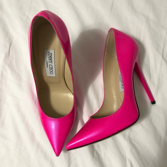 dbfd6611f Jimmy Choo Shoes | Brand New With Box Hot Pink Pointy Pump | Poshmark